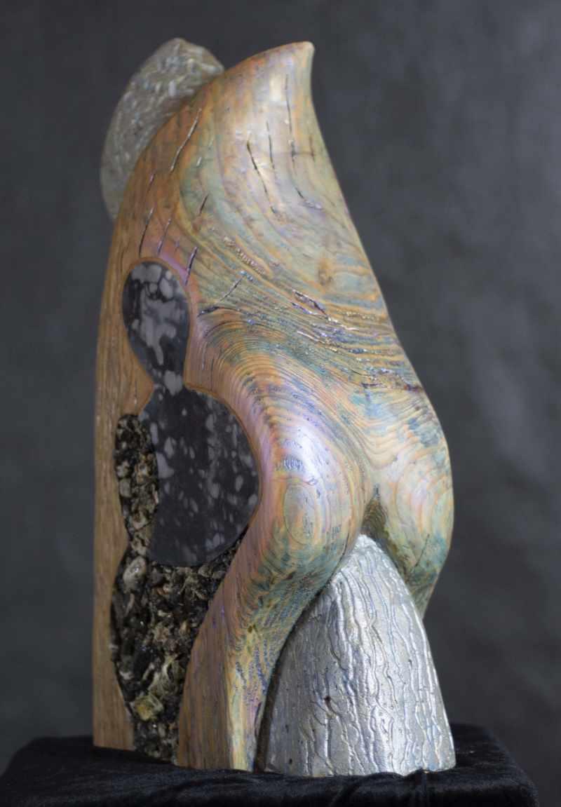 Cohesive - Mixed Media Sculpture
